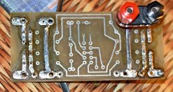 Металлизация переходных отверстий печатной платы кабельными наконечниками