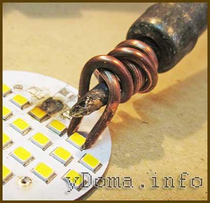 Паяльник для пайки smd деталей  smd soldering iron 52