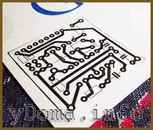 Схема для рисования печатных плат